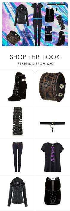"""""""Untitled #81"""" by ren16sinister on Polyvore featuring Giuseppe Zanotti, Nemesis, Rick Owens, Ted Baker, Puma and Casetify"""