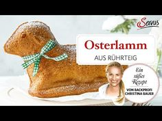 Osterlamm - Backen mit Christina Youtube, Happy Easter, Yogurt, Muffins, Recipes, Sheet Cakes, Biscuits, Chef Recipes, Happy Easter Day