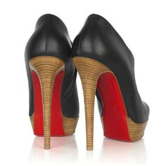 Christian Louboutin Ankle Boots Black Moulage 140 $195.00  http://www.cheaplouboutinsbuy.com/sale/Christian-Louboutin-Ankle-Boots-Black-Moulage-140--783.html