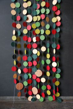 Paper & Thread Garland