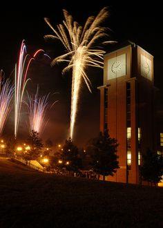 Student Activities Center Fireworks  UNC Charlotte