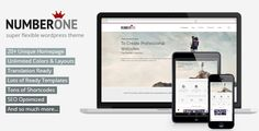 NumberOne - Flexible OnePage & Multipurpose Theme - Business Corporate