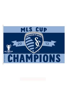 Sporting Kansas City MLS Cup 3x5 Grommet Silk Screen Flag http://www.rallyhouse.com/mls/wcl/sporting-kansas-city/a/gifts/b/flags/c/3x5-flags?utm_source=pinterest&utm_medium=social&utm_campaign=Pinterest-SportingKC $34.99