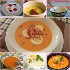 7 deliciosas recetas de SOPAS Y CREMAS FRÍAS