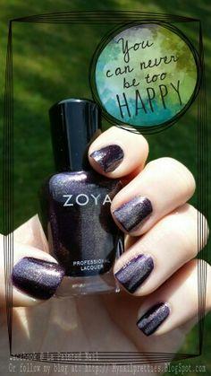 Zoya Sansa from the upcoming Fall 2014 Entice & Ignite Collection.  #Zoya#Sansa#nailpolish#5free# Entice&IgniteFallcollection#Zoya Sansa#lapaintednail Mynailpretties.BlogSpot.com Or follow on facebook @ La Painted Nail