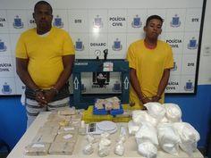 Observador Independente: FEIRA DE SANTANA: Polícia Civil prende dupla com m...