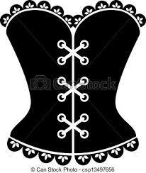 """Résultat de recherche d'images pour """"dessin de corset"""""""