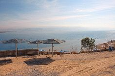 Dead Sea spa at Mineral Beach on the shores of the Dead Sea opposite Qumran.