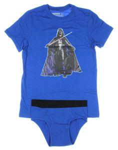 Underoos Star Wars Darth Vader Guys Underwear Set