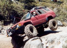 1989 4Runner on the Rubicon Trail