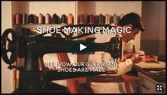 The Making of a Gjergjani Kids Shoe by Egreis Gjergjani