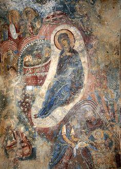 Greece, Outer Mani, Kastania, Καστανιά, Church of Ayios Ioannis 12th-13th C.
