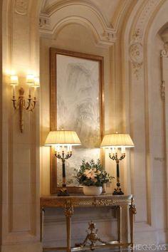Foyer decorating – Home Decor Decorating Ideas Classic Interior, French Interior, French Decor, French Country Decorating, Foyer Decorating, Interior Decorating, Interior Design, Decorating Ideas, Elegant Home Decor
