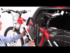 Sport Rider Hitch Rack Instructional Video, 2 bike hitch rack, 4 bike capacity bike rack, hollywood car racks