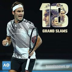 #thebest #federer #tennis #tennisworld #king #18 #grandslams #australianopen