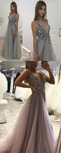 Prom Dresses,Prom Dresses,Long Prom Dresses,Gray Prom Dresses,Sexy Prom Dresses,Evening Dresses,Prom Gowns,Handmade Prom Dresses,Long Prom Dresses,Prom Dresses For Teens