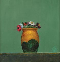 Ulcica pe fond verde  Stefan Caltia