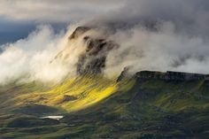 Trotternish Ridge in Mist, Isle of Skye, Scotland