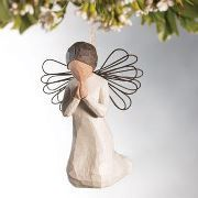 """Angel Ornaments for Sandy Hook / Newton.  Remember those lost in this tragedy by donating an angel ornament to be sent to the community of Newtown.  Will go to families or children to help develop their own """"angel trees.""""     Find info at https://www.facebook.com/events/321794284602027/"""