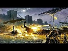 Greek fire was an ancient incendiary weapon used by the Byzantine Empire to burn enemy ships and break sieges. Siege Of Constantinople, Unexplained Phenomena, Legends And Myths, Plasma, In Ancient Times, Dark Ages, Historical Pictures, Ancient Greece, Roman Empire