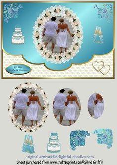Beach Wedding QS on Craftsuprint - Add To Basket!