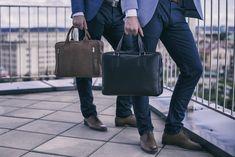 Brodrene bőrből készült üzleti táskák