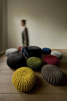 Urchin Pouf   Flocks