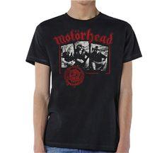 Motorhead Men's Tee: Stamped Wholesale Ref:MHEADTEE40MB