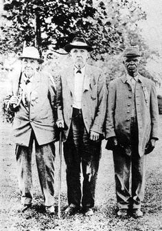 Ex-Confederates Buchanan, W. L. Drake,  and Uncle Lewis Nelson (1920)  Tennessee Historical Quarterly