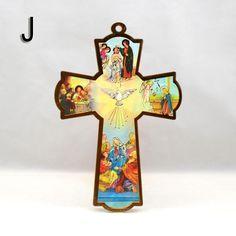 cruces de madera pintadas a mano para ni - Buscar con Google