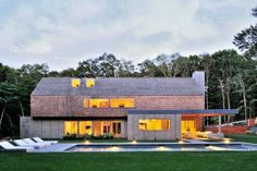 Award Winning Bates Masi designed masterpiece is situated in the heart of the estate section of Amagansett. Amagansett, NY | Douglas Elliman elliman.com