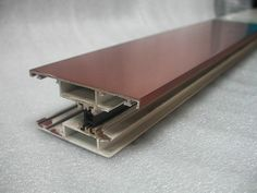 PVC profile covered with VeroMetal Copper