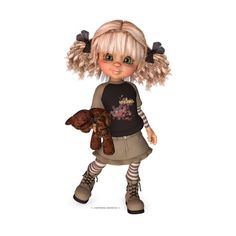 18.png ❤ liked on Polyvore featuring dolls