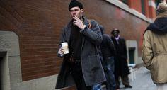 http://chicerman.com  billy-george:  Greyscale  Photo by George Elder  #streetstyleformen