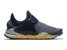 best cheap 1896a 2c22a Nike Sock Dart SE Premium Bleu Officiel Pas Cher Chaussures Pour Homme  859553-400-