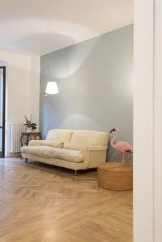 CCS  #apartment #refurbishment #interior #wallpaper #coleandson #wood #floor #lighting #artemide #depadova #flamingo  #interiorstyle #styling #piuerre #architecture #interiorismo #dezeen #archdaily #designmilk #archilovers #architizer