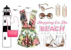 """""""Shopping On The BEACH"""" by brookea1998 ❤ liked on Polyvore featuring Dot & Bo, Posh Girl, Franco Sarto, Jimmy Choo, Dorothy Perkins and Calvin Klein"""