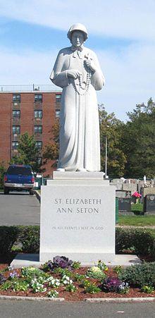 St. Elizabeth Ann Seton, Elizabeth Bayley Seton was the first native born American to be canonized by the Roman Catholic Church. Feastday Jan4