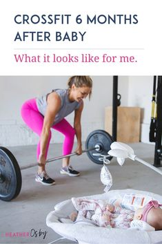 CrossFit postpartum guide by pre and postnatal fitness expert Heather Osby. Postpartum Workout Plan, Post Pregnancy Workout, Postnatal Workout, Pregnancy Tips, Crossfit Workouts At Home, Fit Board Workouts, Fitness Motivation Pictures, Crossfit Motivation, Health And Wellness Coach