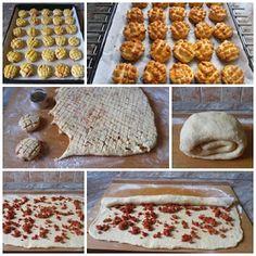 Családi kondér: Kolbászos pogácsa Waffles, Breakfast, Food, Morning Coffee, Essen, Waffle, Meals, Yemek, Eten