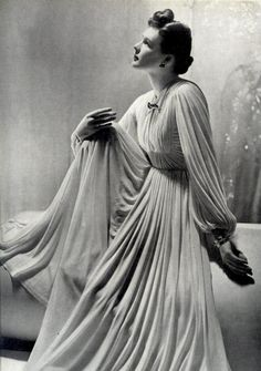 A gorgeous 1930s gown.