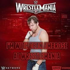 i hope dean wins the ladder match and become the intercontinental champion