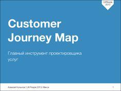 Customer journey map: главный инструмент проектировщика услуг