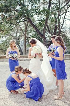love this color for bridesmaid dresses! | The Nichols