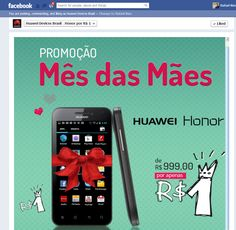 Planejamento da campanha online de lançamento do Smartphone Huawei Honor no Brasil. Contando com ações no Facebook, Google, Blogs, e grandes sites especializados. A operação da página no Facebook da Huawei Devices durante a campanha foi feita pela Focusnetworks.
