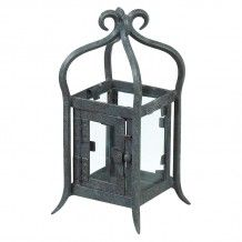 GREY WROUGHT IRON ORNATE LANTERN FOR WEDDING OR PARTY DECOR     Candleholders Archives - Hire and Style | Hire and Style