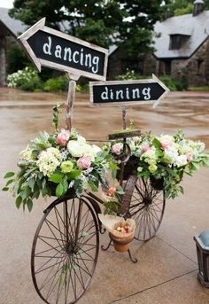 Our wedding topic today is rustic wedding signs.Why we use wedding signs in our weddings? Awesome wedding signs are great wedding decor for wedding ceremony and reception, at the same time, they will also serve many . Wedding Themes, Diy Wedding, Wedding Flowers, Wedding Ideas, Trendy Wedding, Wedding Ceremony, Garden Wedding, Themed Weddings, Wedding Venues