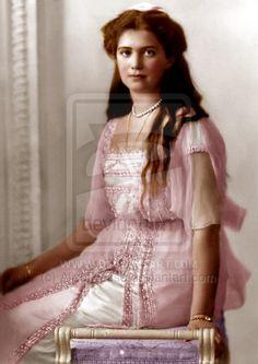 Grand Duchess Maria Nicholaievna of Russia, 1914