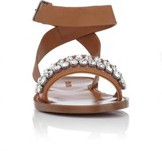 The Original Celebrity Shoes Site * Since 2005 Miu Miu Shoes, Shoes Heels, Flats, Celebrity Shoes, Shoe Sites, Embellished Sandals, Valentino, Crystals, Celebrities