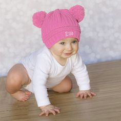 Personalized Baby Beanies - Variety of Colors - $9.99. https://www.bellechic.com/deals/c35adace96e2/personalized-baby-beanies-variety-of-colors